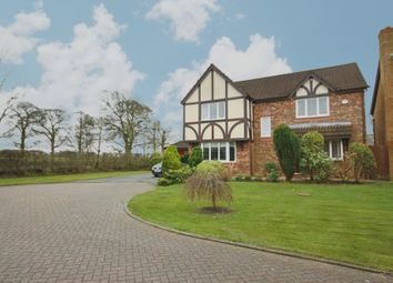 Thumbnail 4 bed detached house for sale in Bellflower Close, Clayton-Le-Woods, Chorley