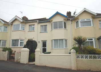 Thumbnail 3 bed terraced house to rent in Dower Road, Torquay
