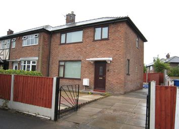 Thumbnail 3 bed end terrace house to rent in Ulverston Avenue, Warrington