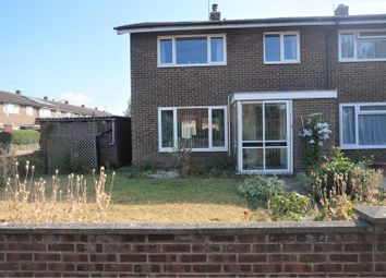 Thumbnail 3 bed terraced house for sale in Shaftesbury Close, West Malling