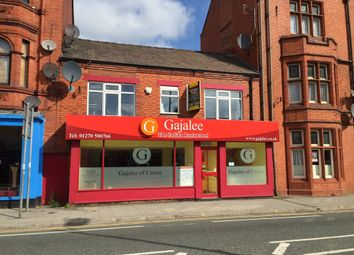 Thumbnail Restaurant/cafe for sale in 9-11 Nantwich Road, Crewe, Cheshire