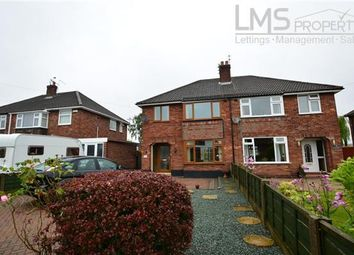 Thumbnail 3 bed semi-detached house to rent in Hubert Drive, Middlewich