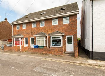 Thumbnail 3 bed end terrace house for sale in Railway Road, Sheerness