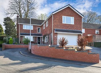 Thumbnail 5 bed detached house for sale in Scalpcliffe Close, Burton-On-Trent