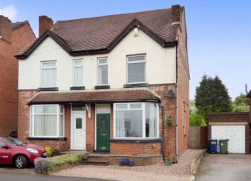 Thumbnail 3 bed semi-detached house for sale in Hednesford Road, Cannock, Staffordshire