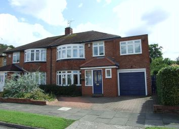 Thumbnail 5 bed semi-detached house to rent in Belmount Avenue, North Gosforth, Newcastle Upon Tyne