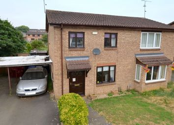 Thumbnail 2 bed semi-detached house to rent in Richard Close, Kettering