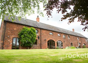 Thumbnail 5 bedroom barn conversion to rent in Heighley Lane, Betley, Crewe