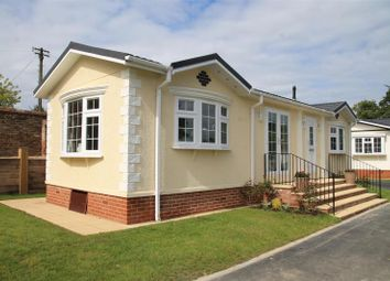 Thumbnail 1 bed mobile/park home for sale in Ladies, Willows Riverside Park, Windsor