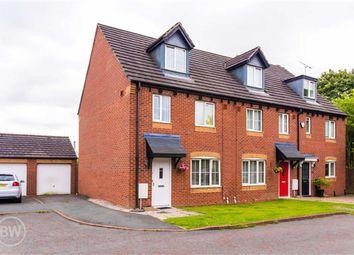 Thumbnail 3 bed town house for sale in Belton Close, Golborne, Warrington