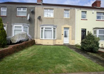 Thumbnail 3 bed terraced house to rent in Vicarage Road, Morriston, Swansea.