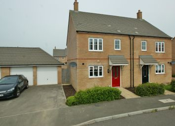 Thumbnail 3 bed semi-detached house to rent in Southdown Close, Bridgefield, Ashford