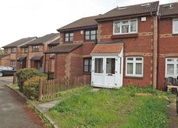 Thumbnail 3 bedroom end terrace house for sale in Lowry Crescent, Mitcham, Surrey