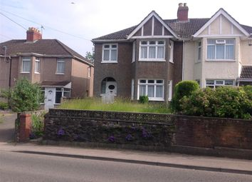 Thumbnail 3 bed semi-detached house for sale in Caldicot Road, Rogiet, Caldicot