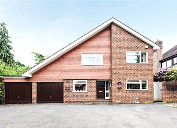 Thumbnail 4 bed detached house for sale in Coach Road, Ottershaw, Surrey