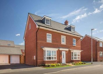 "Thumbnail 5 bed detached house for sale in ""Malvern"" at Briggington, Leighton Buzzard"