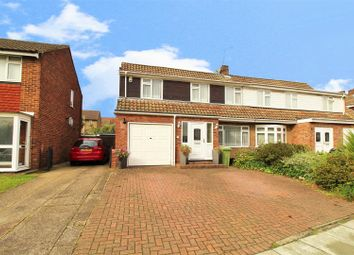 Thumbnail 4 bed semi-detached house for sale in Wessex Drive, Erith