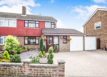 Thumbnail 3 bedroom semi-detached house for sale in Kinross Crescent, Luton