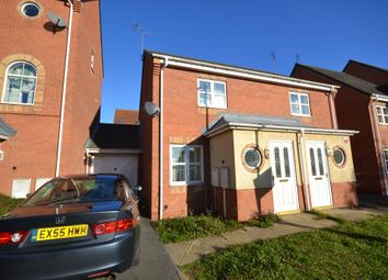 Thumbnail 2 bed semi-detached house to rent in Home Avenue, Thorpe Astley, Braunstone, Leicester
