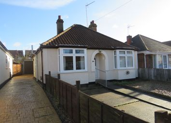 Thumbnail 2 bed detached bungalow for sale in Leopold Road, Ipswich