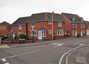 Thumbnail 3 bed detached house for sale in Melia Drive, Wednesbury