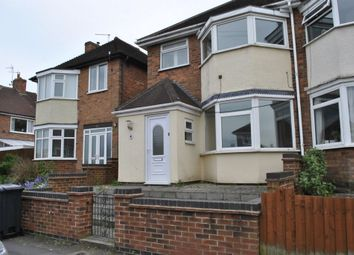 Thumbnail 4 bed semi-detached house to rent in The Parkway, Leicester