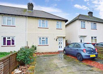 Thumbnail 4 bedroom semi-detached house for sale in Howbury Lane, Erith, Kent