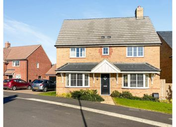 Thumbnail 4 bed detached house for sale in Hornbeam Row, Northampton