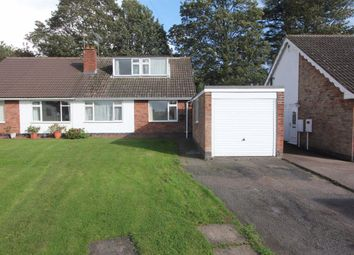 Thumbnail 3 bed bungalow to rent in Castle Close, Sapcote, Leicester