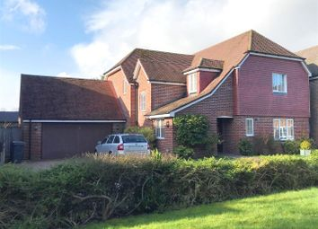 Thumbnail 4 bed detached house for sale in Wheelwrights Close, Highclere, Newbury
