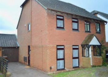 Thumbnail 2 bed semi-detached house for sale in Galleon Close, Rochester