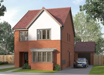 "Thumbnail 4 bed detached house for sale in ""The Finsbury"" at Etwall Road, Mickleover, Derby"
