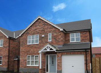 Thumbnail 4 bed detached house for sale in Plot 36, The Kingston, Hopfield, Hibaldstow, Brigg