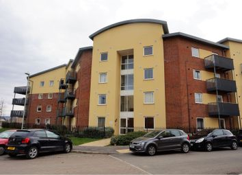 Thumbnail 2 bed flat for sale in 45 Longhorn Avenue, Gloucester