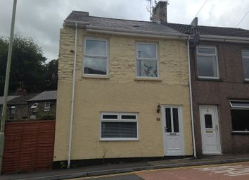 Thumbnail 2 bed semi-detached house to rent in Commercial Street, Ogmore Vale, Bridgend.