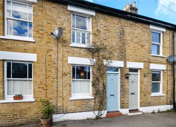 Thumbnail 3 bed terraced house for sale in New Road, Weybridge, Surrey