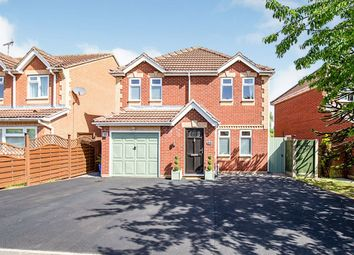 Thumbnail 4 bed detached house for sale in Morland Drive, Hinckley, Leicestershire