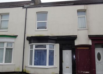 Thumbnail 2 bedroom terraced house to rent in Grove Street, Stockton-On-Tees