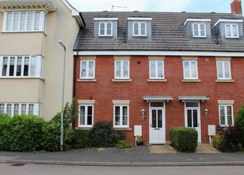 Thumbnail 3 bedroom town house for sale in St Crispin Crescent, St Crispins, Northampton