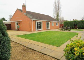 Thumbnail 4 bedroom detached bungalow for sale in Glebe Road, Fletton, Peterborough