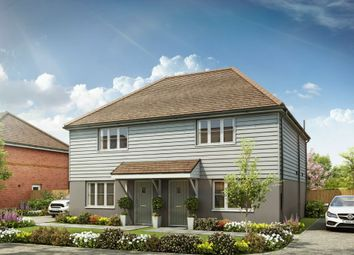 Thumbnail 2 bed semi-detached house for sale in Petworth Road, Wisborough Green, Billingshurst
