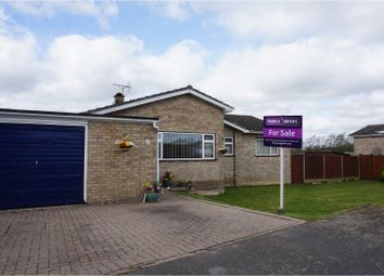 Thumbnail 4 bedroom detached bungalow for sale in Brittons Road, Barrow, Bury St. Edmunds