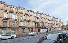 Thumbnail 2 bedroom flat for sale in Cathcart Road, Glasgow