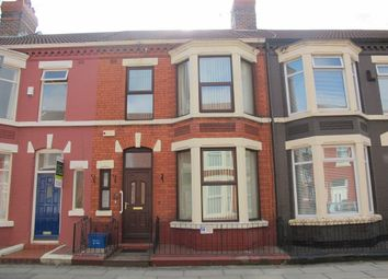 Thumbnail 4 bed terraced house to rent in Chetwynd Street, Aigburth, Liverpool