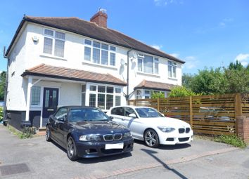 Thumbnail 3 bed semi-detached house to rent in Walton Road, West Molesey