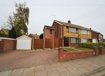 Thumbnail 4 bed semi-detached house for sale in Aldercroft Close, Ipswich