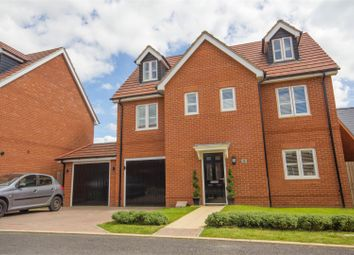 Thumbnail 5 bed detached house for sale in Freyberg Drive, Berryfields, Aylesbury