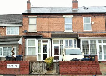 Thumbnail 2 bed terraced house for sale in Wilton Road, Handsworth