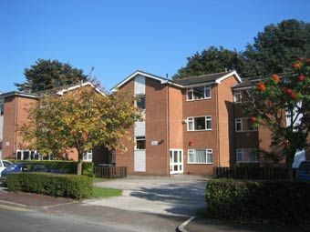 Thumbnail 2 bed flat to rent in Aldborough Close, Withington