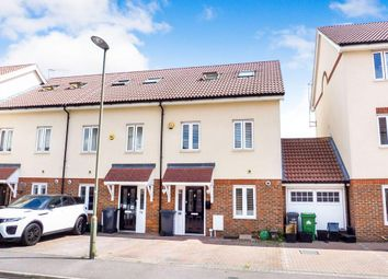 Thumbnail 4 bed end terrace house for sale in Robinia Road, Broxbourne
